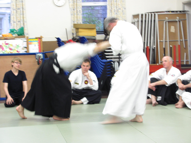 New World Budo Kan Summer Course held in Devon England in July 2012 with Professor Carl Withey & Renshei Jayson Peak